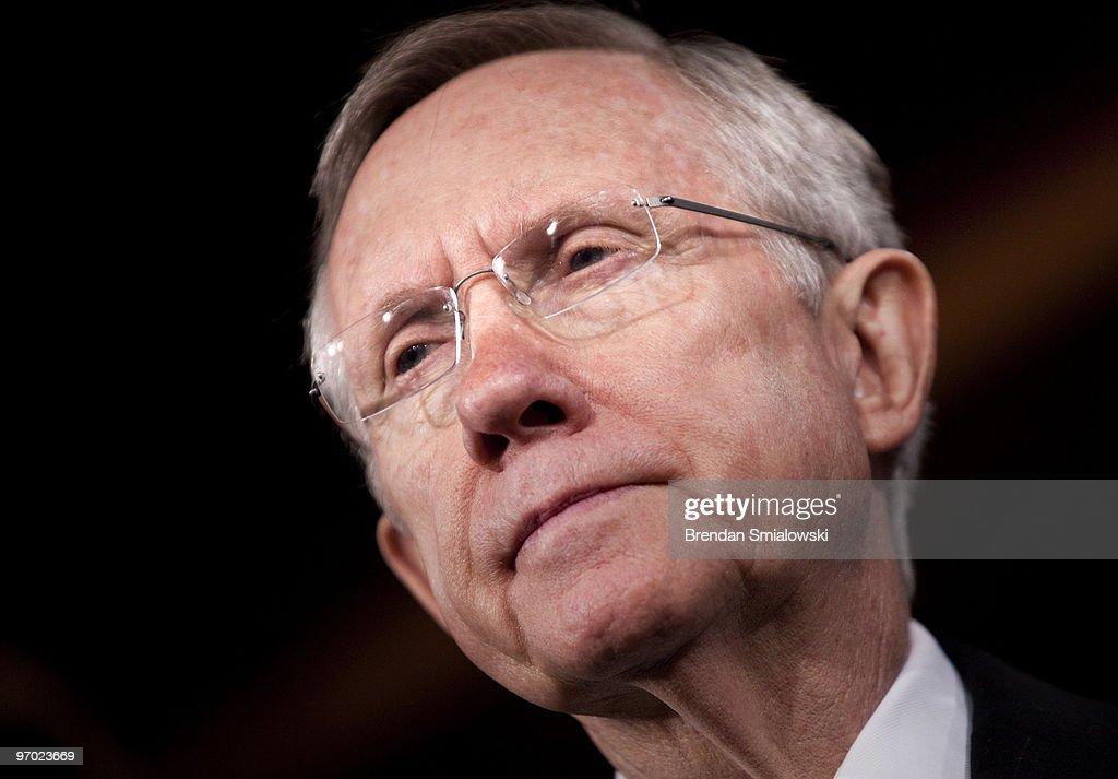 Senators Reid, Schumer, And Boxer Discuss Senate Jobs Bill