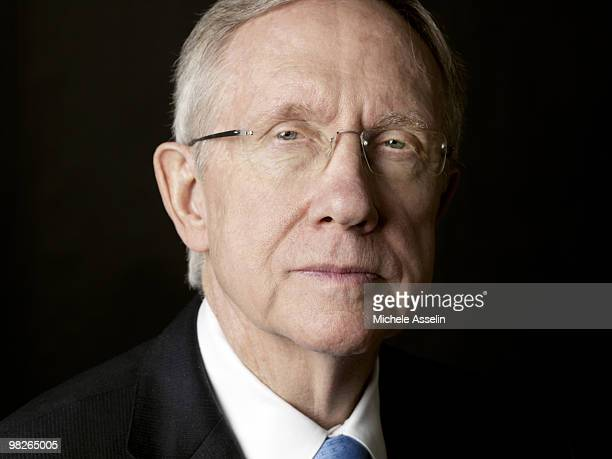 Senate Majority Leader Harry Reid poses for a portrait session on December 11 Washington DC