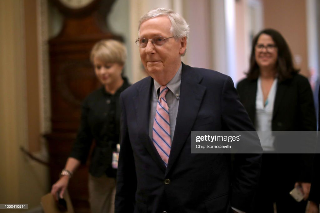 Senate Votes On Confirmation Of Brett Kavanaugh To The Supreme Court : News Photo