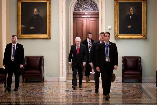 DC: Senate Impeachment Trial Of President Donald Trump Begins