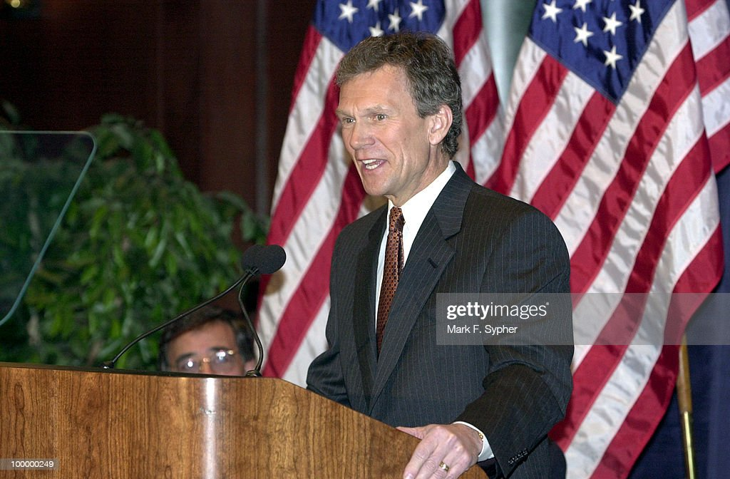 Senate Majority Leader Thomas Daschle (D) gave his 'America's Economy: Rising To Our New Challenges' speech on Friday at the Center for National Policy.'