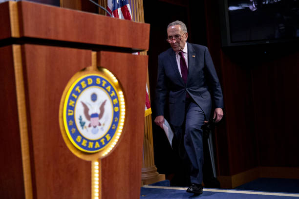 DC: Senator Schumer Holds News Conference On DOJ Inspector General Report
