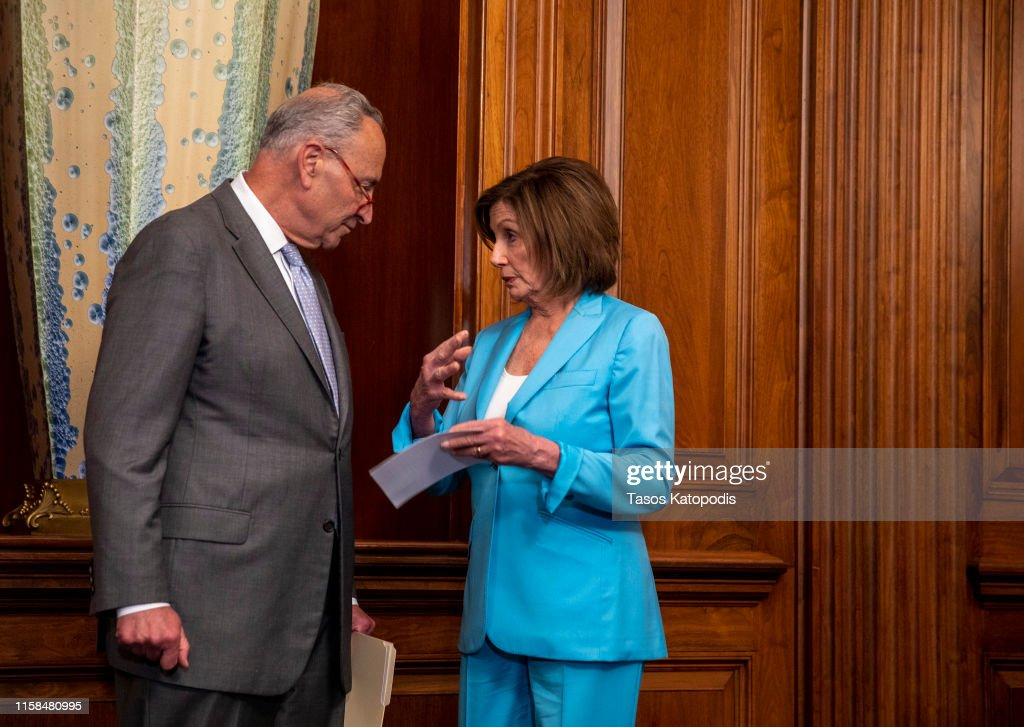 Democratic Leaders Address Media Ahead Of Vote On Securing America's Elections Act : News Photo