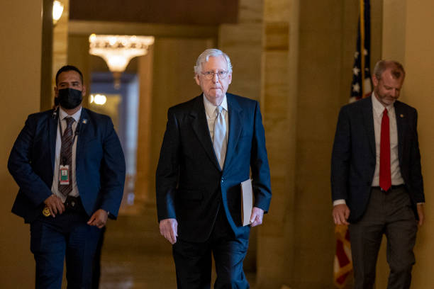 DC: Congress Returns To Capitol Hill To Work On Domestic Agenda