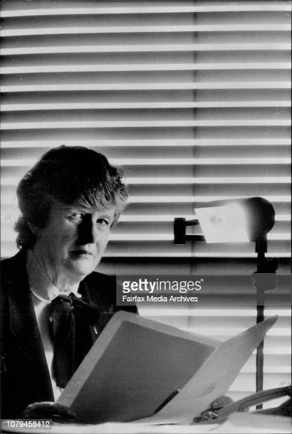 Senate Olive Zakharov had was a victim of ASIO who made a file on her for Bigamy. October 12, 1990. .