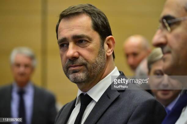 Senate's inquiry at Christophe Castaner and Bruno Le Maire Mars 19 2019 Paris