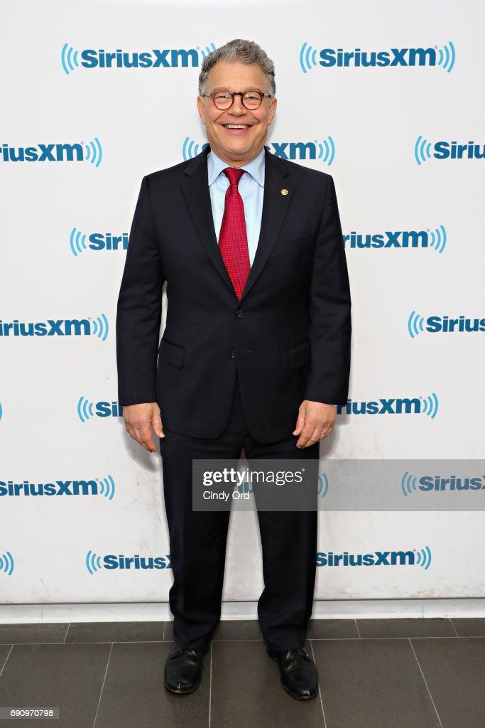 Senator Al Franken Discusses Politics At A SiriusXM Town Hall With Host Julie Mason And The Hill's Bob Cusack