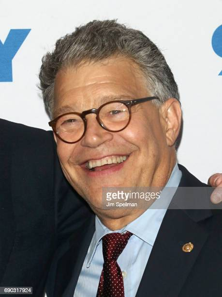 Senator Al Franken in conversation hosted by David Letterman presented by 92nd Street Y on May 30 2017 in New York City