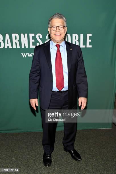 Senator Al Franken promotes his book 'Al Franken Giant of the Senate' at Barnes Noble Union Square on May 31 2017 in New York City