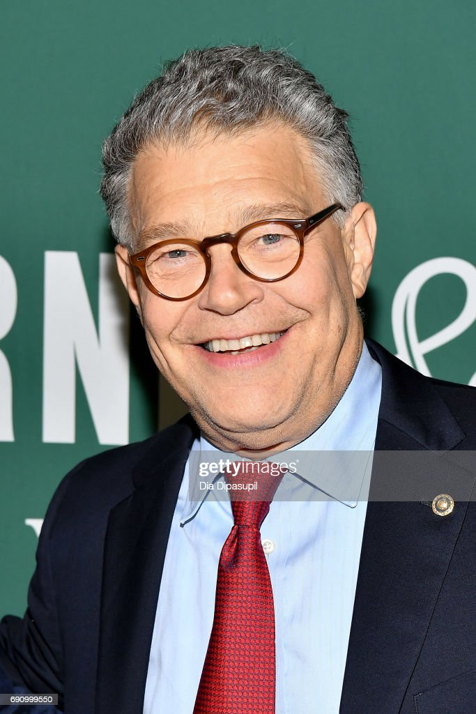 "Al Franken Signs Copies Of His New Book ""Al Franken, Giant of the Senate"""