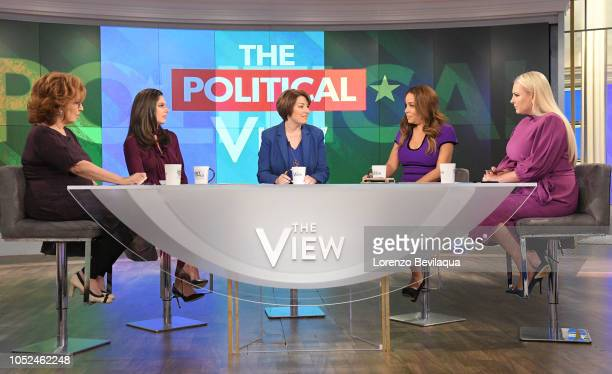THE VIEW Senator Amy Klobuchar is the guest today Thursday October 18 2018 'The View' airs MondayFriday on the ABC Television Network MCCAIN