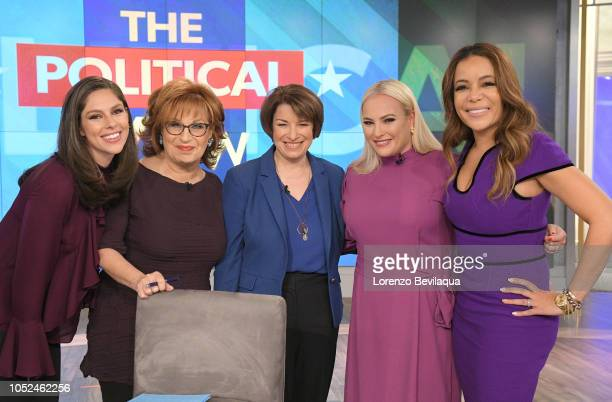 THE VIEW Senator Amy Klobuchar is the guest today Thursday October 18 2018 'The View' airs MondayFriday on the ABC Television Network HOSTIN