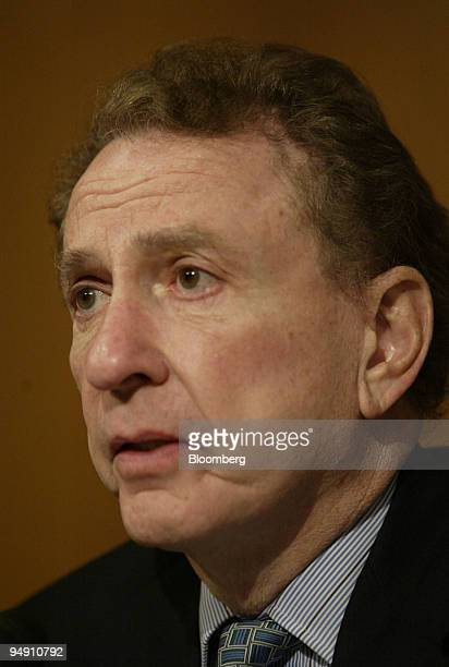 Senator Arlen Specter chairs a hearing of the Committee on Appropriations Subcommittee on Labor Health and Human Services in Washington DC about a...