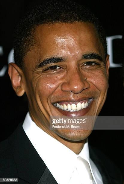 S Senator Barack Obama attends Oprah Winfrey's Legends Ball at the Bacara Resort and Spa on May 14 2005 in Santa Barbara California