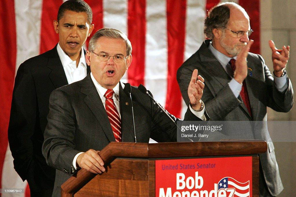 Campaign Rally with U.S. Senator Robert Menendez , U.S. Senator Barack