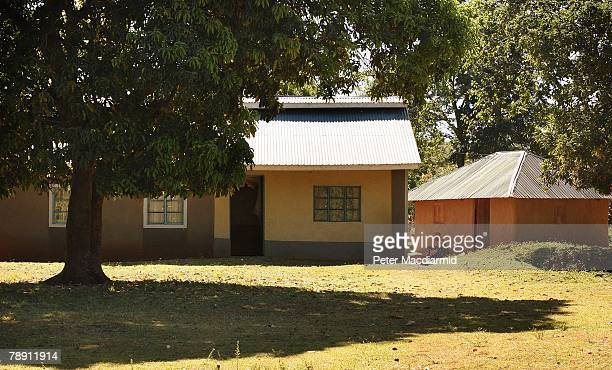 Senator Barack Obama's stepgrandmother Sarah Obama sits by the family home on January 12 2008 in Kogelo western Kenya Barack Hussein Obama father of...