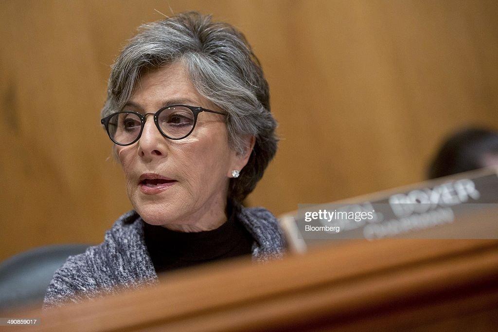 Senate Committee Markup On Highway and Transit Legislation : News Photo