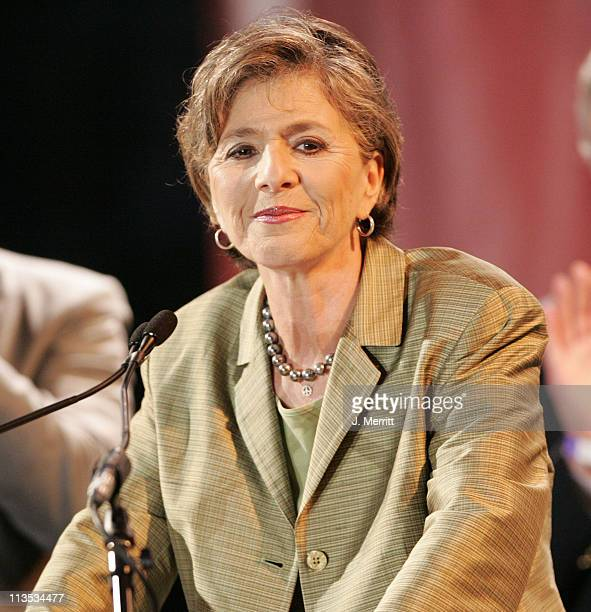 Senator Barbara Boxer during The Red Hot Chili Peppers Perform as the Democrats Rally to Take Back The Senate at Bergamot Station in Santa Monica...