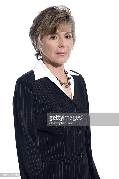Senator Barbara Boxer poses at a portrait session for New York Times Magazine in January 2006