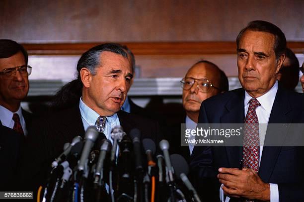 Senator Ben Campbell and Bob Dole