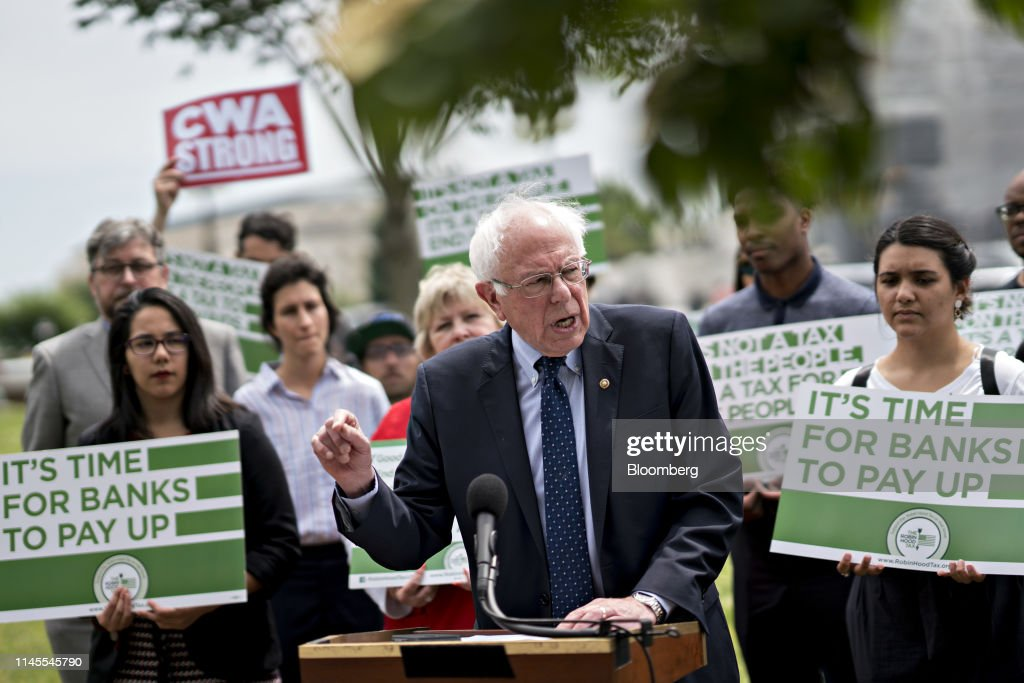 DC: Bernie Sanders Revives Plan To Tax Stock, Bond And Derivatives Trades