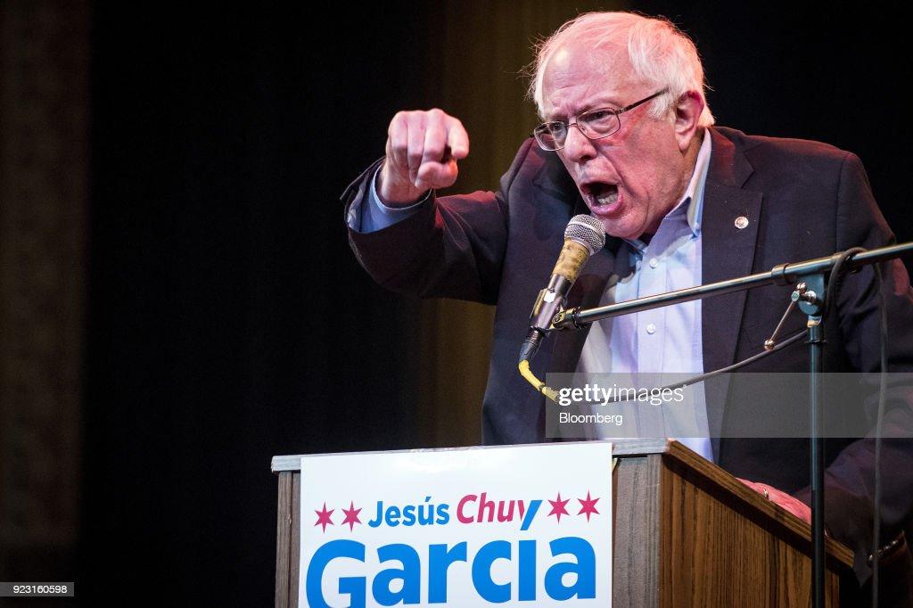 "Senator Bernie Sanders Rallies With Democratic Representative Candidate Jesus ""Chuy"" Garcia"