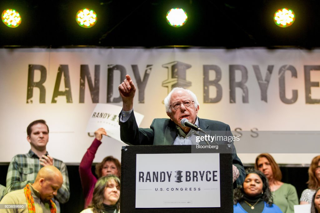 Senator Bernie Sanders Rallies With Democratic Representative Candidate Randy Bryce