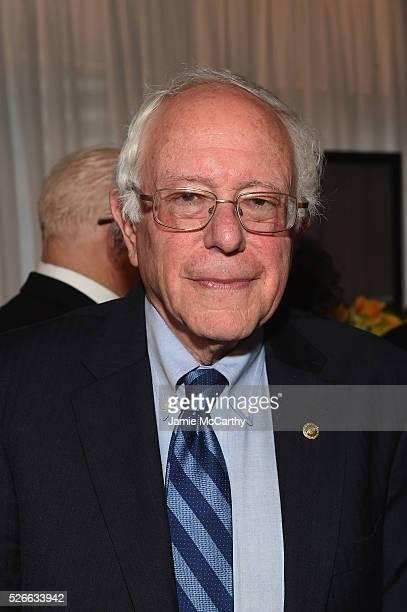 Senator Bernie Sanders attends the tlantic Media's 2016 White House Correspondents' Association PreDinner Reception at Washington Hilton on April 30...
