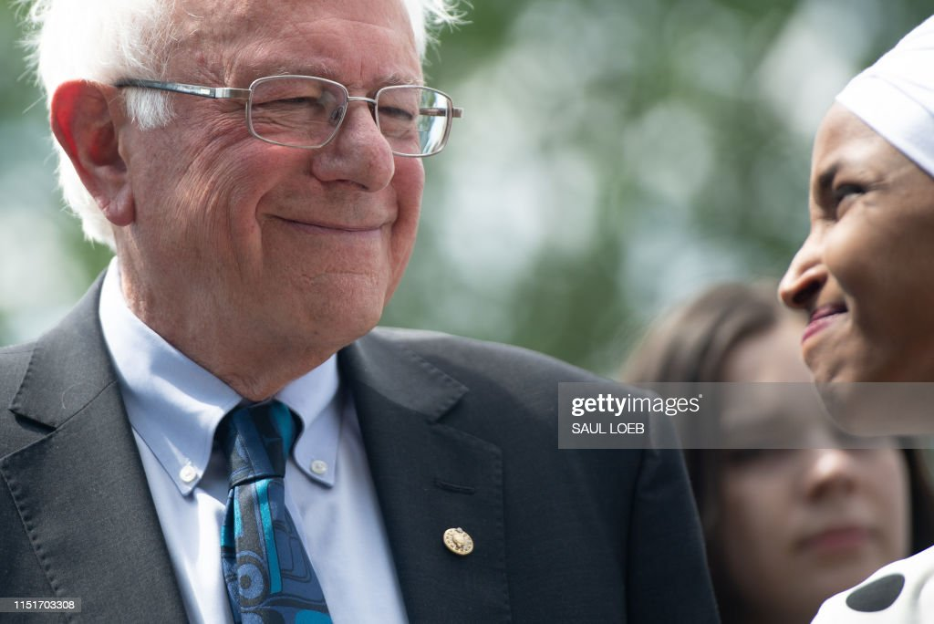 DOUNIAMAG-US-POLITICS-SANDERS : News Photo
