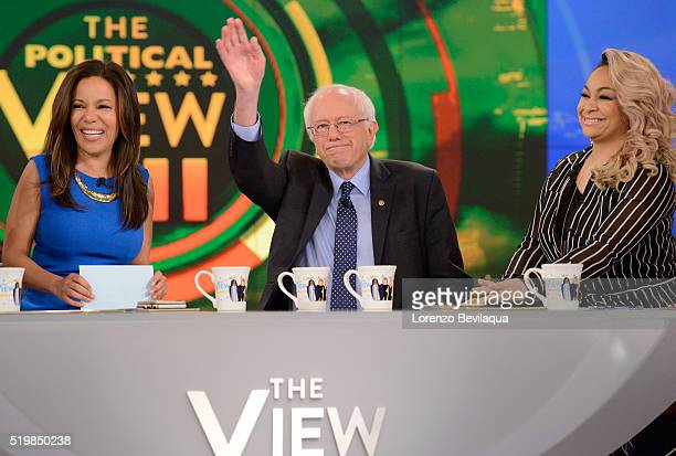 THE VIEW Senator Bernie Sanders is a guest on The View live today Friday April 8 2016 The View airs MondayFriday on the Walt Disney Television via...