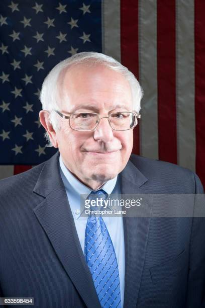 Senator Bernie Sanders is photographed for The Guardian Magazine on November 14 2016 in New York City