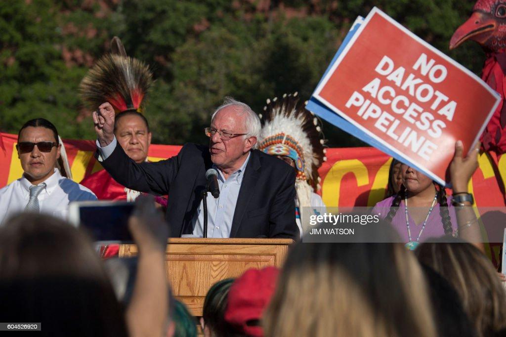 US-POLITICS-ENVIORNMENT-PIPELINE : News Photo