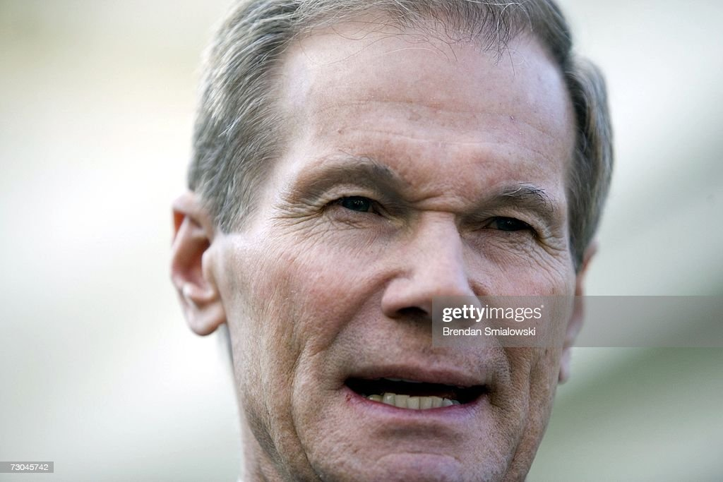 Sen. Bill Nelson Meets With Nat'l Security Advisor Stephen Hadley