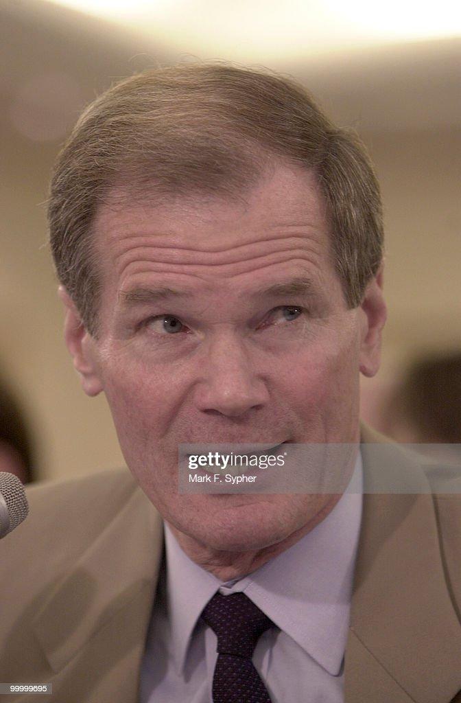 Senator Bill Nelson ((D-FL) testifying before the Senate banking Committee on Wednesday.
