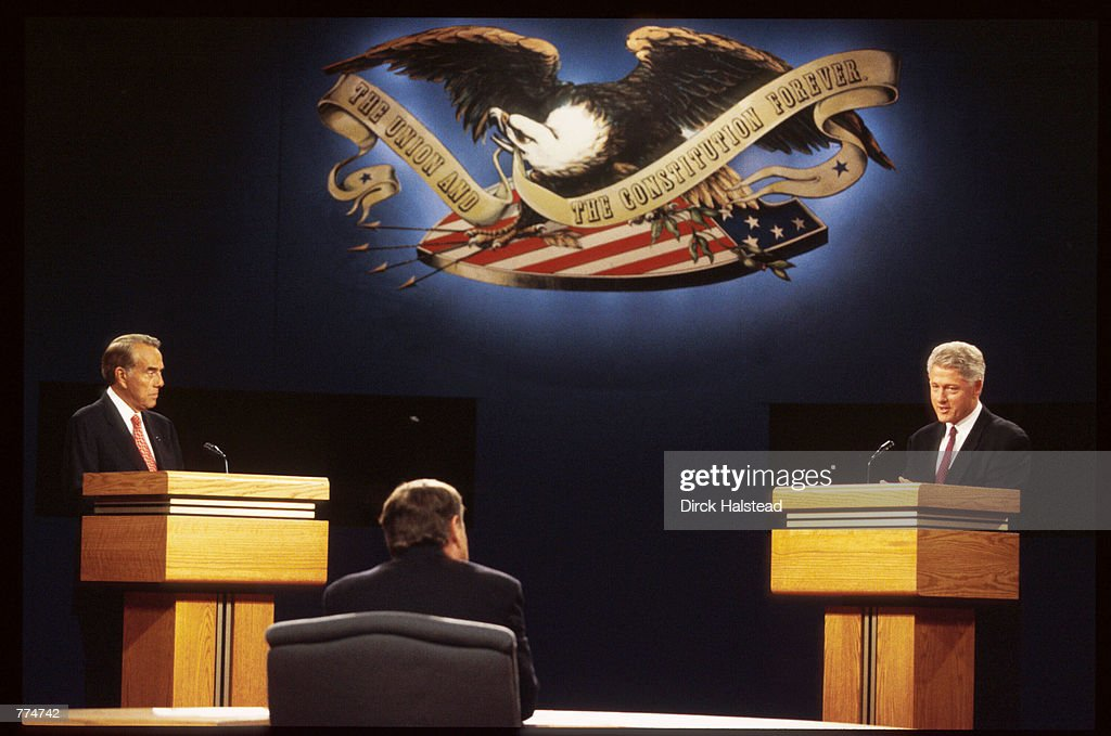 the presidential debate between william clinton and robert dole 2 maps showing the outcome of both the 1992 and 1996 us presidential  bill clinton defeated bob dole with 49 percent of the popular vote and  debate topics.