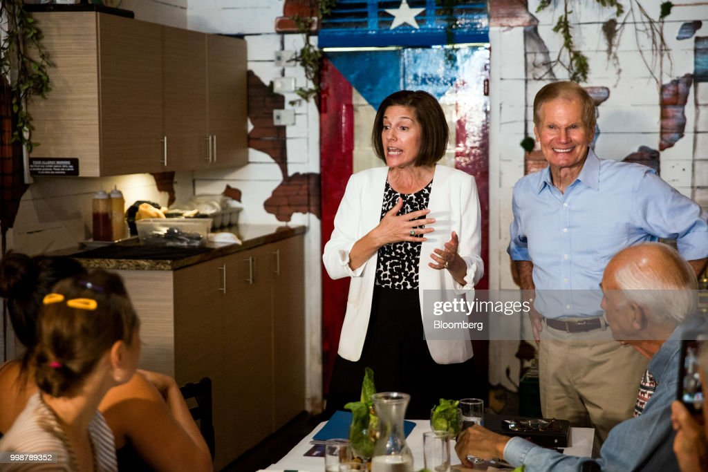 Senator Catherine Cortez Masto And Senator Bill Nelson Hold Vecinos de Nelson Canvass Kickoff Event
