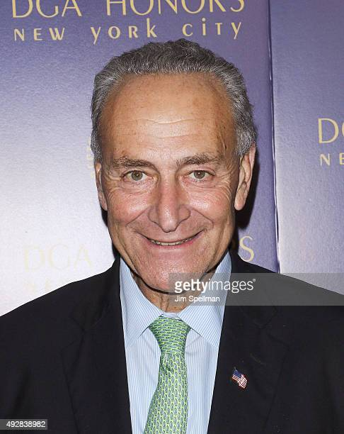 Senator Chuck Schumer attends the DGA Honors Gala 2015 at the DGA Theater on October 15 2015 in New York City