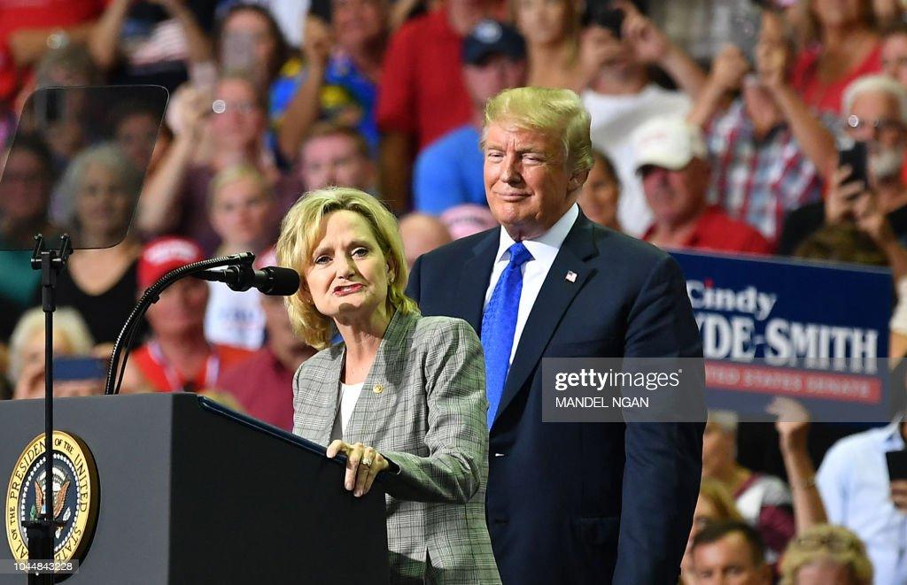 US-POLITICS-TRUMP : News Photo
