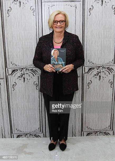 S Senator Claire McCaskill attends AOL Build Presents 'Plenty Ladylike' at AOL Studios In New York on August 12 2015 in New York City