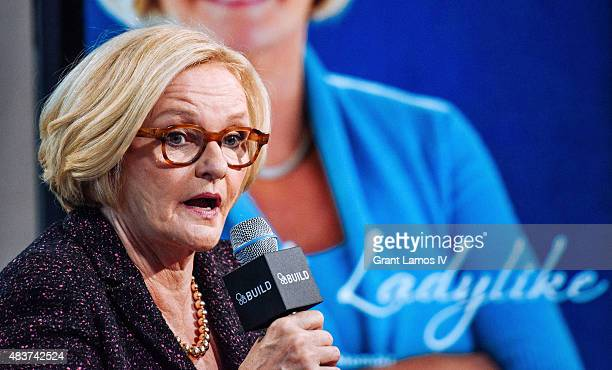 S Senator Claire McCaskill attends the AOL Build Presents 'Plenty Ladylike' at AOL Studios in New York on August 12 2015 in New York City