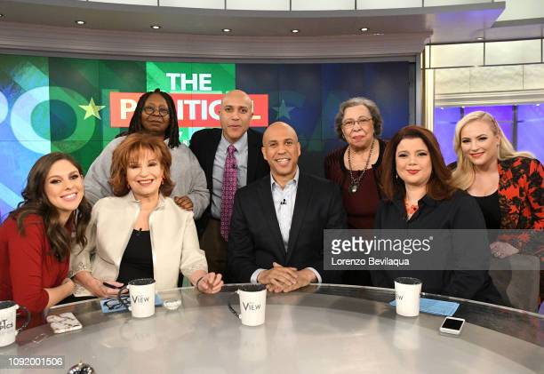 THE VIEW Senator Cory Booker announces he is running for president on Walt Disney Television via Getty Images's The View Friday February 1 2019 The...