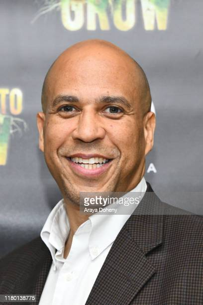 """Senator Cory Booker at the LA Premiere & Global Free Screening Launch of Rosario Dawson's Eco-Solution Film """"The Need To GROW"""" on October 09, 2019 in..."""