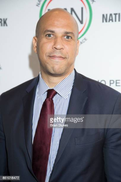 Senator Cory Booker at Walter E Washington Convention Center on September 20 2017 in Washington DC