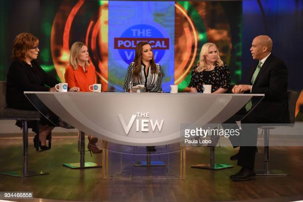 THE VIEW Senator Cory Booker is the guest today Monday March 19 2018 on ABCs The View The View airs MondayFriday on the ABC Television Network BOOKER