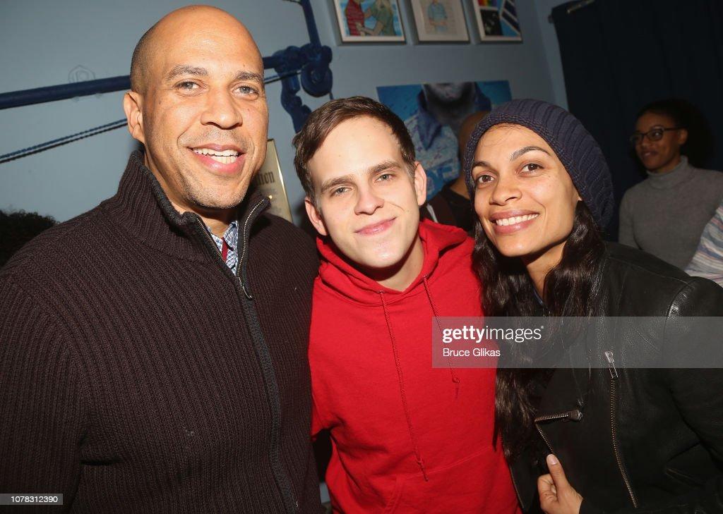 Celebrities Visit Broadway - January 5, 2019 : News Photo