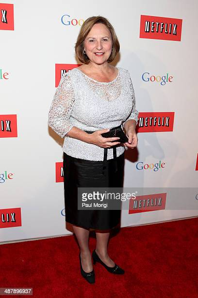 S Senator Deb Fischer walks the red carpet at Google/Netflix White House Correspondent's Weekend Party at United States Institute of Peace on May 2...