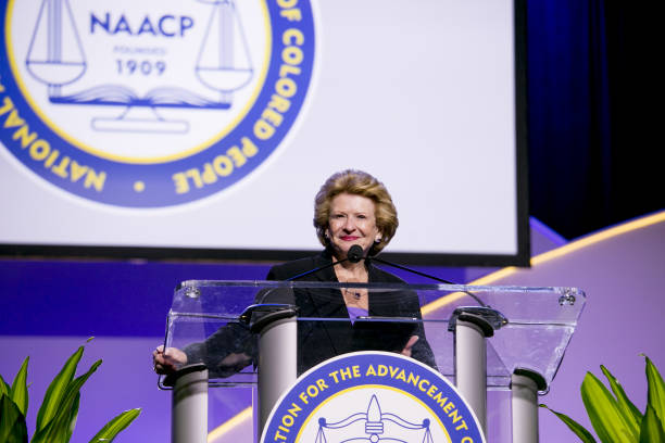 MI: House Speaker Nancy Pelosi And Democratic Leaders Speaks At NAACP Convention