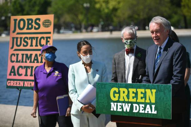 DC: Democratic Politicians Reintroduce Green New Deal Legislation