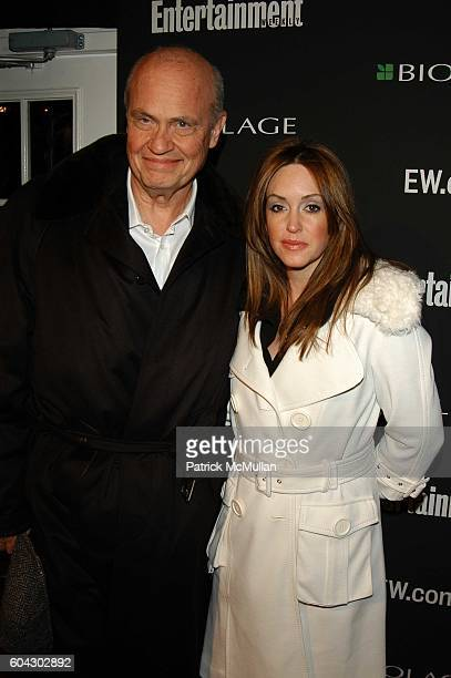 Senator Fred Thompson and Jeri Kehn Thompson attend Academy Awards viewing party at Elaine's at Elaine's NYC USA on March 5 2006