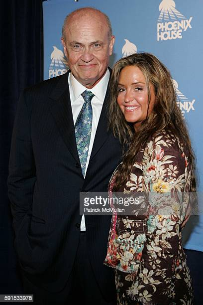 Senator Fred Thompson and Jeri Thompson attend Phoenix House to Honor NBC Universal President Jeff Zucker at Starlight Room on June 8 2005 in New...